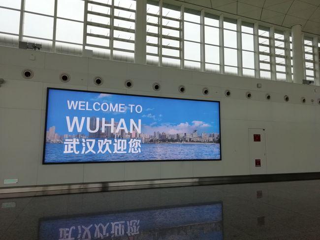 初中国・武漢!<br />飛行機はANA使用。現地用に5万円(2800元)持参。百度地図、we chatまたはアリペイ、翻訳アプリ必須です。