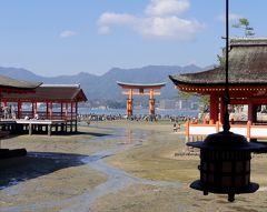2018.11三段峡,宮島旅行5-2度目の宮島 厳島神社 瑠羽樹で昼食