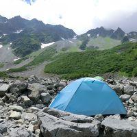 2018夏 テント泊で奥穂高岳登山