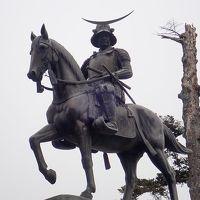 冬の東北(3)仙台城(青葉城)跡・伊達政宗公騎馬像