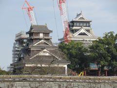 紅葉の九州縦断2泊3日の旅 その1「曽木の滝」「熊本城」「高千穂夜神楽」