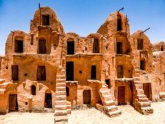 チュニジア縦横断の旅1タタウィン周辺からマトマタへ