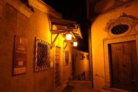 美しき南イタリア旅行♪ Vol.560(第19日)☆ロレート・アプルティーノ旧市街 美しい夜景♪