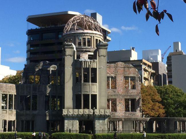 11月中旬に広島市内を主に徒歩で回ったまち歩きの記録です。<br />表紙は、平和記念公園側から見た原爆ドームです。