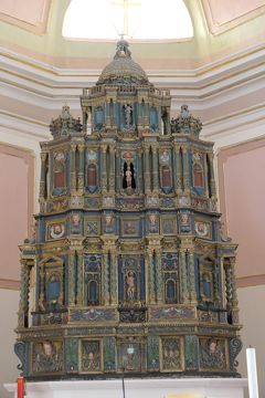 美しき南イタリア旅行♪ Vol.588(第20日)☆:サンテウフェミーア・ア・マイエッラの美しい教会:素晴らしい祭壇♪