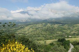 美しき南イタリア旅行♪ Vol.591(第20日)☆美しき山岳村「ロッカカラマニコ」展望台からのパノラマ♪
