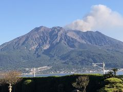 明治維新から150年なので鹿児島に決定!旅行積立金相崩し~桜島と薩摩切子!