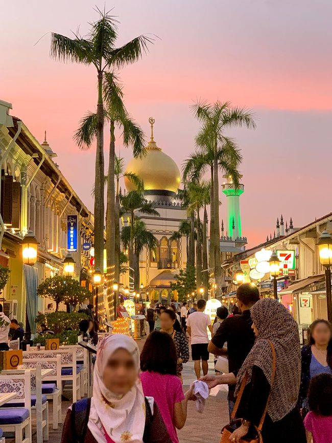 2018年11月【No.2】シンガポール4泊5日のひとり旅☆2日目~ブギス周辺&夜のアラブストリート アンダーズシンガポールに滞在