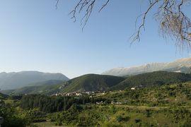 美しき南イタリア旅行♪ Vol.601(第20日)☆Cansano:美しき山岳村「カンサーノ」黄昏の遠景♪