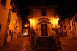 美しき南イタリア旅行♪ Vol.604(第20日)☆イタリア美しき村「ペスココスタンツォ」美しい夜景♪