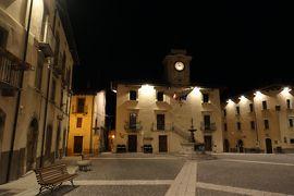 美しき南イタリア旅行♪ Vol.607(第20日)☆イタリア美しき村ペスココスタンツォ:夜景のPiazza Municipio♪