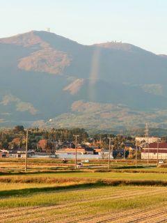佐渡島-3 トキの森公園⇒ホテル大佐渡 バス車窓風景 ☆国中平野から相川方面へ