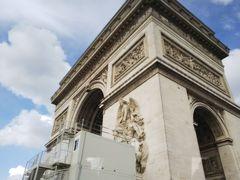フランスツアー一人旅《4日目:パリ市内車窓観光~5日目:ルーブル美術館まで》
