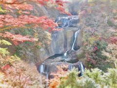 久しぶりの袋田の滝へ。嫁さんが本気を出した?子供と嫁は上へと登る?