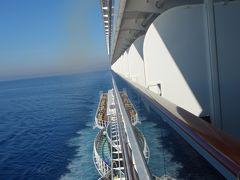MSC Seaview はジェノヴァからナポリへ向う。ちょっと距離があるので午前中も航海です。