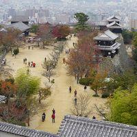 愛媛中予・東予のごちゃごちゃ旅(一日目)~松山市街を見下ろす松山城にぼっちゃんゆかりの道後温泉。懐かしいベタな市内の観光スポットを周遊です~