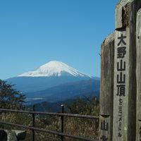 富士山の絶景を楽しむ 大野山日帰りハイキング