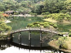 晩秋の3連休+1 栗林公園・小豆島・姫路城・京都紅葉巡り(第1日)