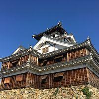 カニ食べついでに福知山城見物 網野出身のノムさんはすごい人だった!