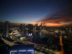 2018年12月弾丸で行くシンガポール 美味しいものを食べよう!後編 シンガポール・フライヤーから見たベイ・サイドの景色は最高でした!