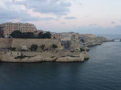 ヴァレッタに早朝に寄港。ここの入港シーンはすばらしい。このために船に乗ったのです。