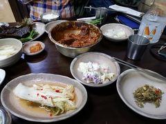 2018.11 韓国(3)大邸にてチムカルビを食す