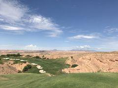 砂漠でゴルフ?️♂️イェーイ👍