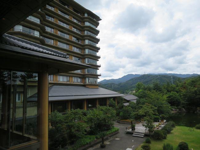 月岡温泉 姉妹館 ホテルの泊まり比べ。<br /><br />私と夫、息子、娘、娘の子(10か月)の3世代旅行。<br />2泊目は 白玉の湯 「華鳳」