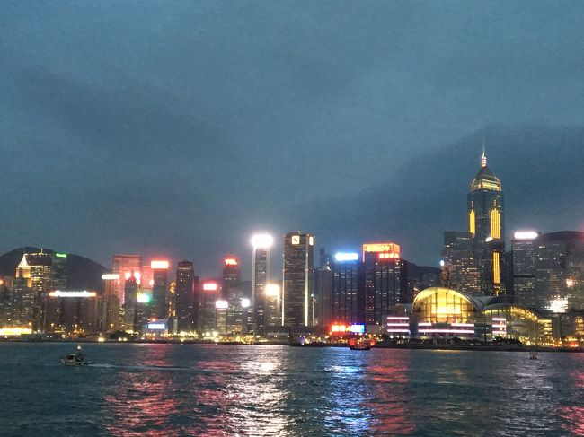 香港で乗り継ぎのついでに1泊した時の記録。