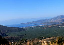 2018.8ギリシアザキントス島,ペロポネソス半島ドライブ旅行37-SpiridonからDelphiまでのドライブ