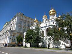 嬉しい誤算続きのロシア旅行 5 快晴のモスクワ観光② (憧れのクレムリン)