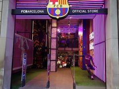 バルセロナで第一に行くところ。それは,FCバルセロナのオフィシャル・ショップ。メッシのユニフォームを買いに。