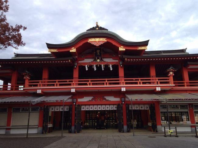千葉駅周辺を歩いてみました。写真は千葉神社です