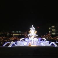 東京旅行 移動日 ディズニー クリスマス1