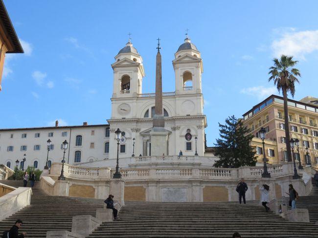 この所、毎年のように訪れているイタリア・ローマですが、今回はゆったりした旅程で楽しむ事になりました。<br />ローマに滞在するのは8日間で、その後フィレンツェに移動して5日間、ボローニャでは4日間しミラノへ<br />移動して3日間の全20日間の滞在で日本からの移動に往復3日間となりました。<br />食べ歩きも含めてイタリアを楽しみました。