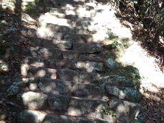 大山登山 どこまでも何時までも続く石段