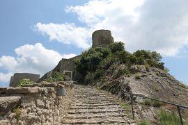 美しき南イタリア旅行♪ Vol.639(第21日)☆Roccascalegna:美しき古城「ロッカスカレーニャ城」優雅に歩く♪