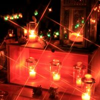 江の島でキャンドルの灯りに癒された夜