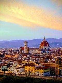 初冬のイタリア ヴェネチア、フィレンツェ、ローマ 4日目 @フィレンツェ
