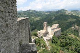 美しき南イタリア旅行♪ Vol.644(第21日)☆Roccascalegna:美しき古城「ロッカスカレーニャ城」優雅な退城♪