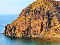 佐渡島15 最北端景勝地・二ツ亀 海水浴場も ☆二ツ亀ビューホテルで昼食:海鮮ちらし