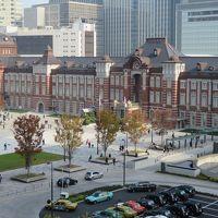 東京駅丸の内の撮影スポット(クリスマス・ツリーや列車)