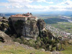 ギリシアへ弾丸家族旅行、修道士の道を辿るハイキング(3日目)