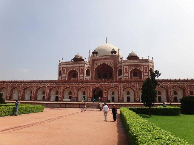 夏休み念願のインド一人旅(3日目:デリー街歩き、フマユーン廟、インド門、クトゥブミナールほか)