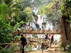古の都ルアンパバーンでのんびりと 5 バイクでクアンシーの滝へGo!