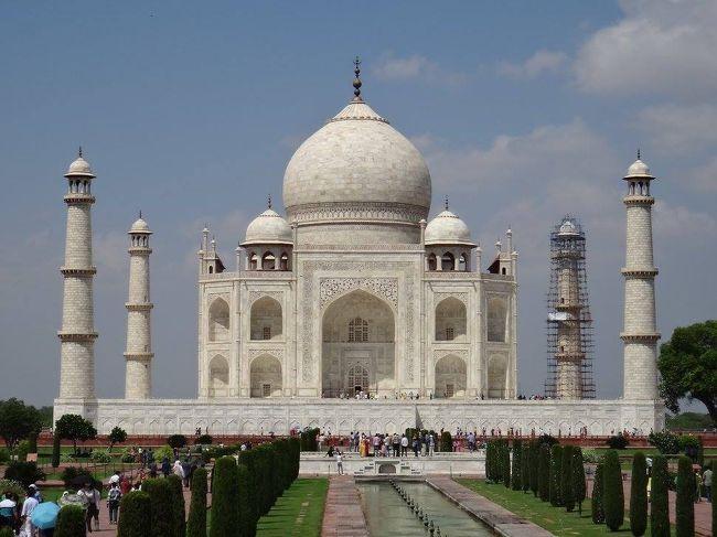 夏休み念願のインド一人旅(4日目:アグラ街歩き、タージマハル、アグラフォートほか)