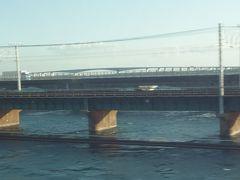 東海道新幹線に乗りました。のぞみです。めずらしくないっか。