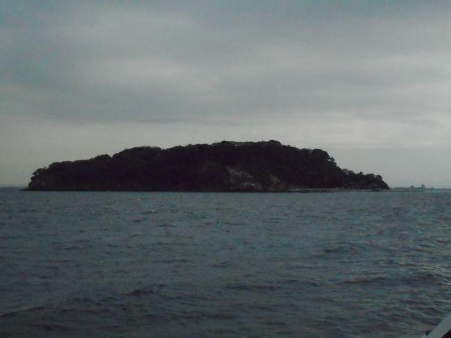 横須賀中央に着いた後は三笠公園を歩いて新三笠桟橋から猿島に渡りました。