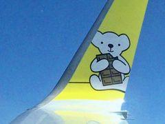 中部国際空港出発のANA函館行きはADOの運行だった/食いしん坊のぶらり旅「北海道編」