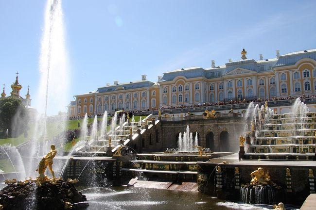 嬉しい誤算続きのロシア旅行 6 魅惑のサンクトペテルブルグ ピョートル大帝夏の宮殿 ①